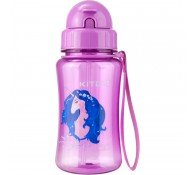 Бутылка для воды с трубочкой Любимая София 350мл