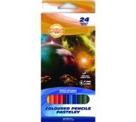 Цветные карандаши 24 цветов