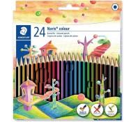 Цветные карандаши 24 цвета.