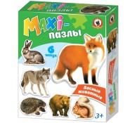 Макси-Пазл Лесные животные