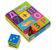Умные кубики 12 шт Играем читаем считаем
