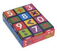 Умные кубики 12 шт Учимся считать