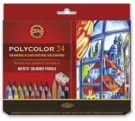 Набор карандашей цветных Polycolor 24 шт