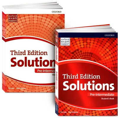 Solutions. Pre-Intermediate + workbook