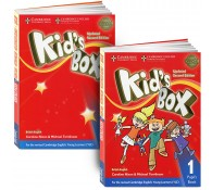 Kid's Box 1 (book + workbook+СD)