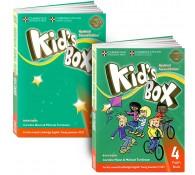 Kid's Box 4 (book + workbook+СD)