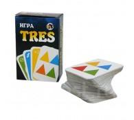 Карточная игра TRES (в стиле игры УНО)