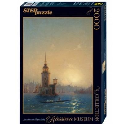 Пазл 2000. Вид Леандровой Башни в Константинополе
