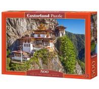 Пазл 500. Вид на монастырь Такцанг Лакханг. Бутан