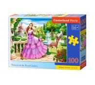 Пазл 100. Принцесса в королевском саду