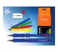 Ручка шариковая автоматическая двухцветная