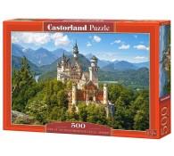 Вид на замок Нойшванштайн, 500 элементов