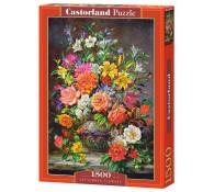Пазл 1500 элементов Сентябрьские цветы