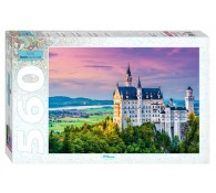 Пазл 560 элементов Бавария Замок