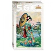 Пазл 560 элементов Японка