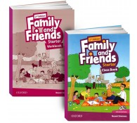 Family and Friends: Starter: Class Book with Student MultiROM + workbook