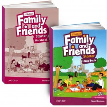 Family and Friends. Starter (book + workbook+СD)