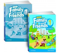 Family and Friends : Level 1: Class Book with Student MultiROM + workbook