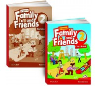 Family and Friends: Level 2: Class Book with Student MultiROM + workbook