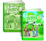 Family and Friends: Level 3: Class Book with Student MultiROM + workbook