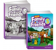 Family and Friends: Level 5: Class Book with Student MultiROM + workbook