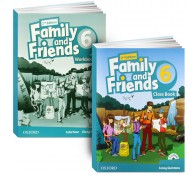 Family and Friends. Level 6 (book + workbook+СD)