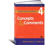 Reading  Vocabulary Development 4. Concepts and Comments