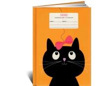Дневник для начальных классов Котик с бантиком