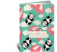 Дневник для начальных классов Панды парашютисты