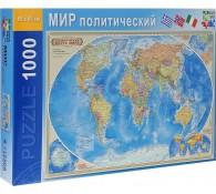 Политическая карта мира. Пазл, 1000 элементов