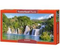4000 элементов Водопады Крка, Хорватия