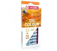 Набор красок масляных ARTCREATION 12цв. по 12мл, картонная уп-ка(ART)