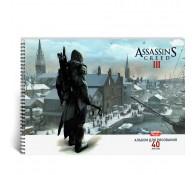 Альбом для рисования 40л А4 /Assassin's Creed /