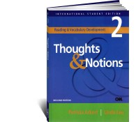 Reading  Vocabulary Development 2. Thoughts  Notions