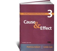 Reading  Vocabulary Development 3. Cause  Effect