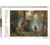 Пазл Мозаика puzzle 1000 Утро в сосновом лесу