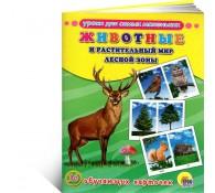 Животные и растительный мир лесной зоны.